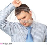 Free Business Man Ponders His A Problem Royalty Free Stock Photo - 13857295