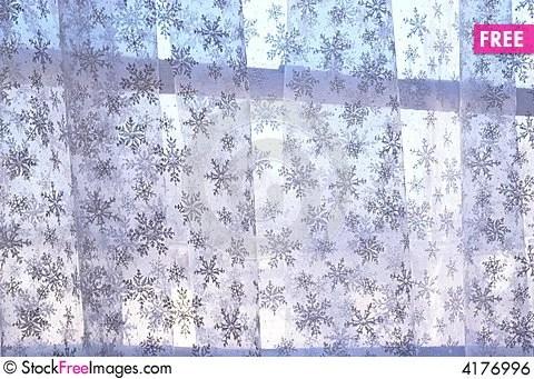 Snowflake Curtain Free Stock Photos & Images 4176996
