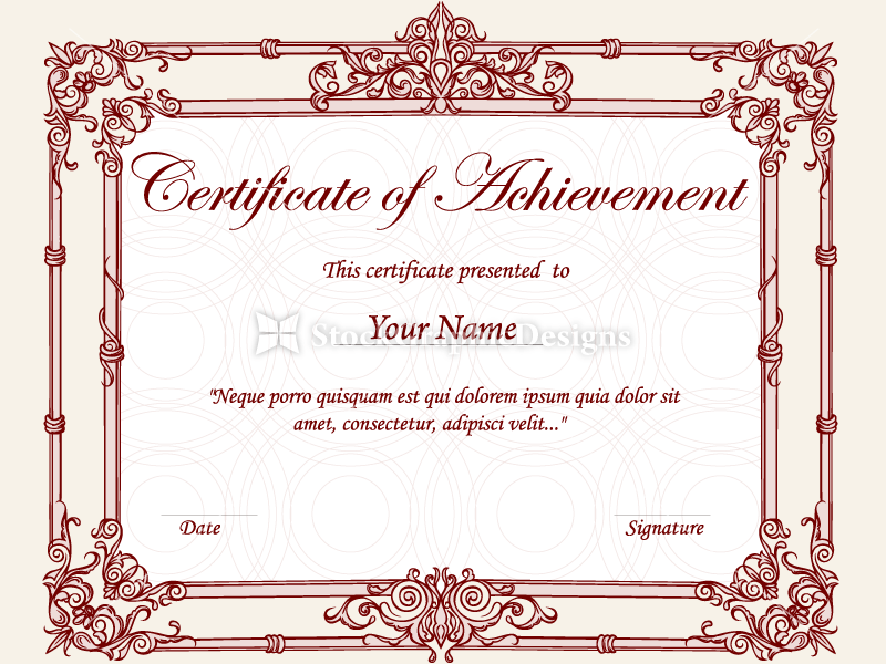 fancy certificate borders - Pertamini.co