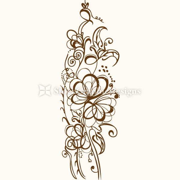 Calligraphic Design Elements Vector Set 1 Vector