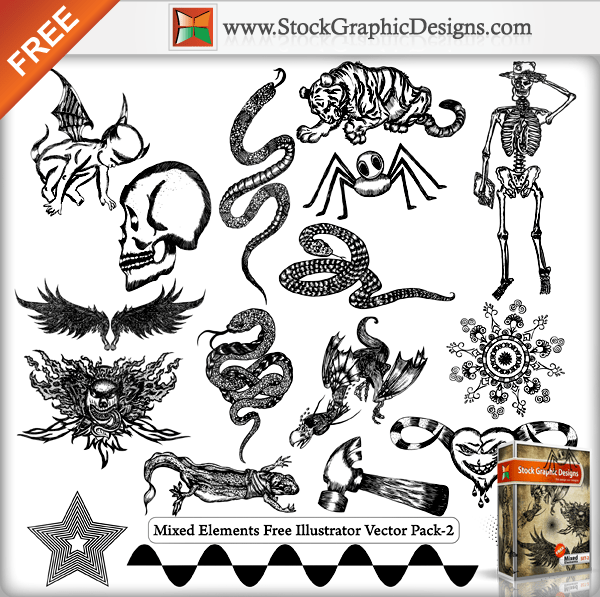 Free vector pack 4 vector | free download.
