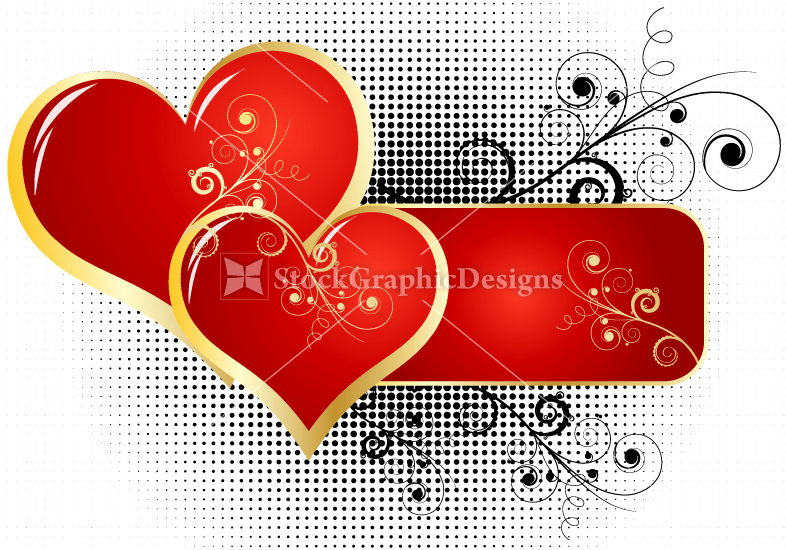 heart designs vector photoshop brushes stock graphic designs