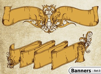 hand-drawn-banner-scroll-stock-vector-illustration-s3