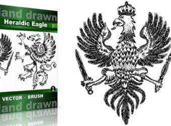 Hand_Drawn_Heraldic_Eagle_Vol_1