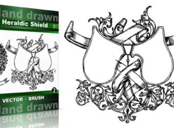 Hand_Drawn_Heraldic_Shield_Vol_2