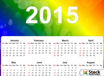 vector-2015-calendar-on-abstract-rainbow-colors-background-4
