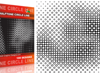 vector_and_brush_halftone_circle_line
