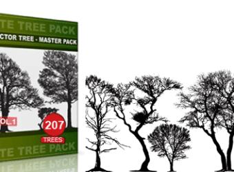 vector_and_brush_tree_pack_vol_1