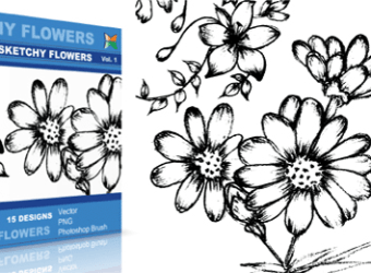 vector_sketchy_flowers_1_