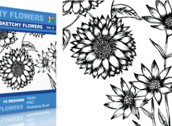 vector_sketchy_flowers_9_