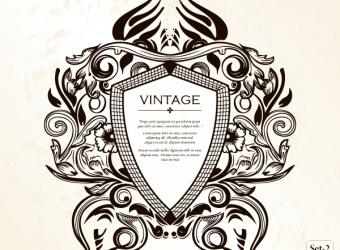 vintage-heraldic-shield-floral-ornament-vector-illustrator-photoshop-brushes-set-2