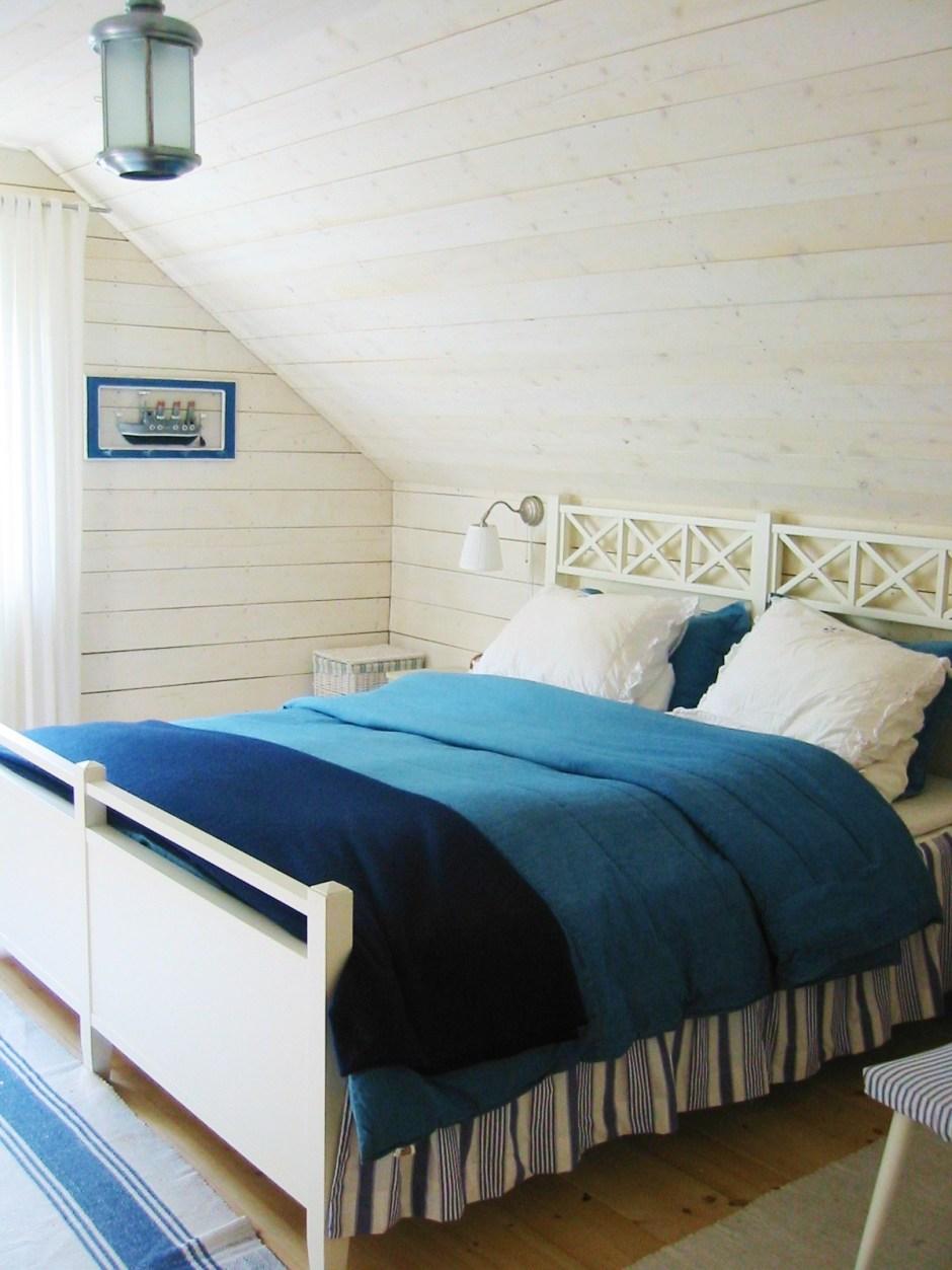 Schlafzimmer im Ferienhaus in Stockholm