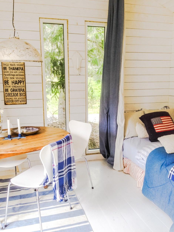 Ferienhaus Stockholm: Schlafzimmer im neuen Nebenhaus