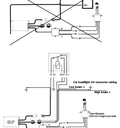 schematics for range rover p38 dual bulb h4 4b hid conversion [ 1000 x 1309 Pixel ]
