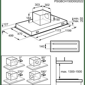 EXAUSTOR AEG DCK6290HG