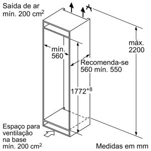 COMBINADO BOSCK KIN86VS30