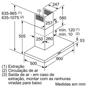 CHAMINÉ BALAY 3BC097GGC