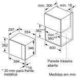 MICRO ONDAS BALAY 3CG4172X0 5