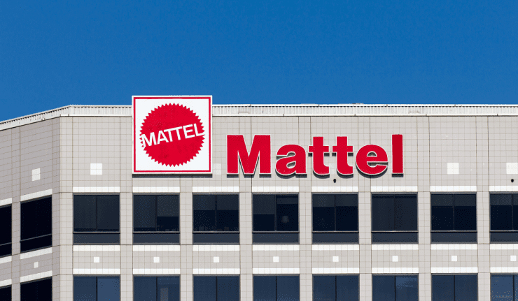 has the mattel stock