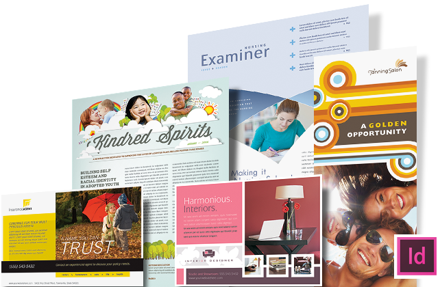 Adobe InDesign Templates Graphic Designs & Ideas