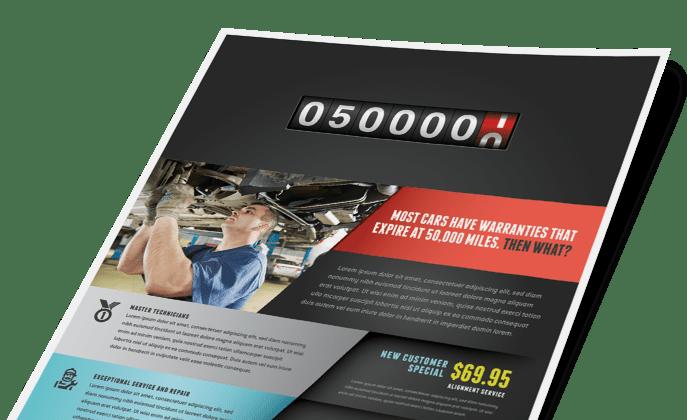 Automotive & Transportation Marketing Brochures Flyers