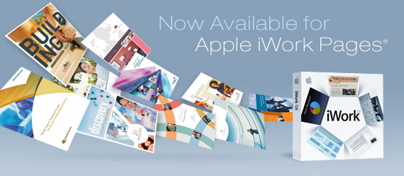 Apple iWork Pages Templates by StockLayouts