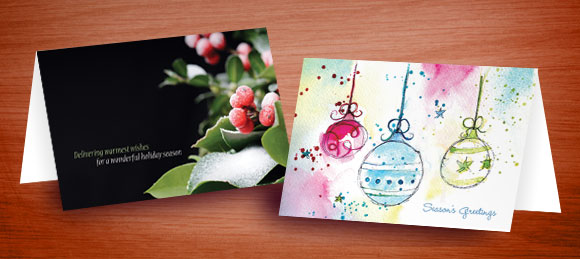 Holiday & Christmas Greeting Card Designs