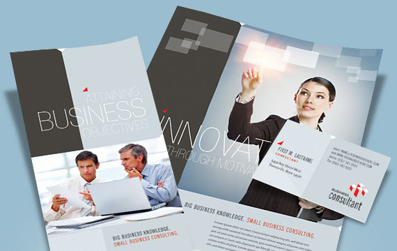 Corporate Business Marketing Materials