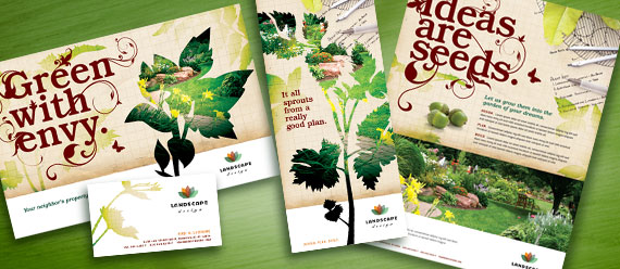 landscaping advertising flyers