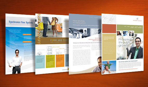 4 datasheet template designs for small business marketing