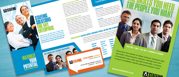 Staffing Agencies Create Professional Marketing Materials
