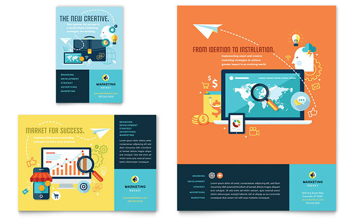Advertising Company - Flyer and Ad Design Example