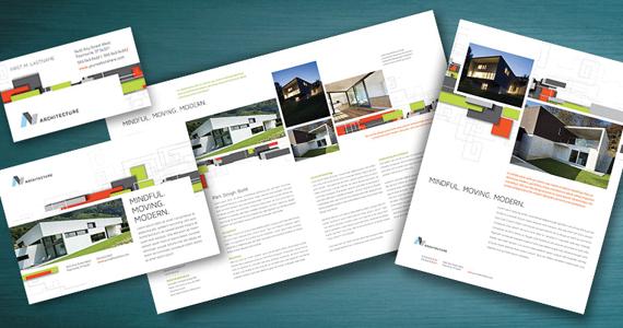 Business Marketing Templates – Architectural Design