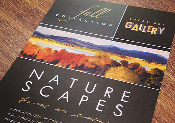 Art Gallery - Marketing Materials & Ideas