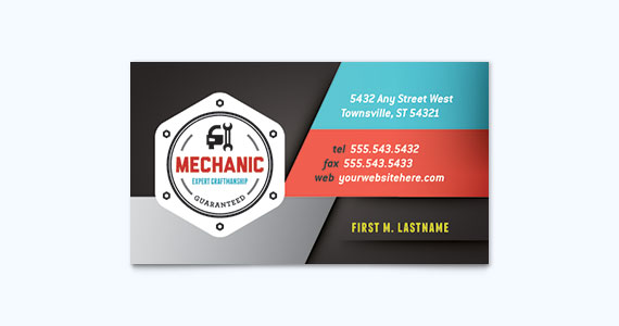 25 graphic design examples of business cards stocklayouts blog automotive business card design idea colourmoves