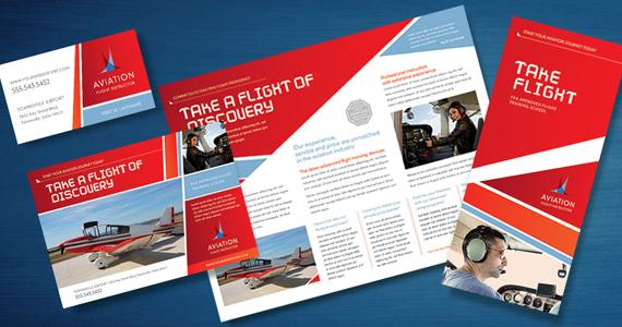 Business Marketing Templates – Aviation Flight Instructor