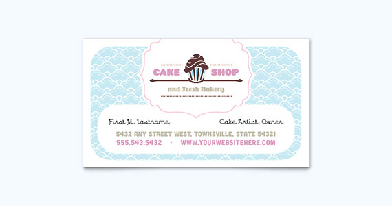 25 graphic design examples of business cards stocklayouts blog bake shop business card design colourmoves