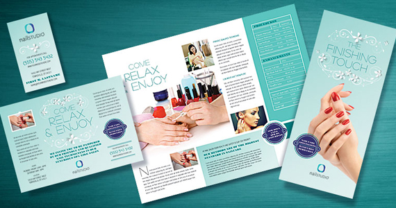 Business Marketing Templates – Nail Technician