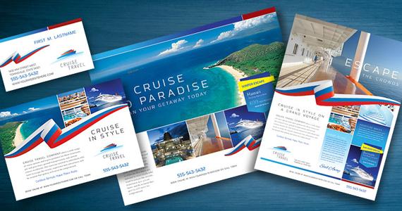business marketing templates cruise travel