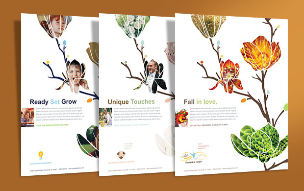 Custom Flyer Designs - Business Marketing Templates
