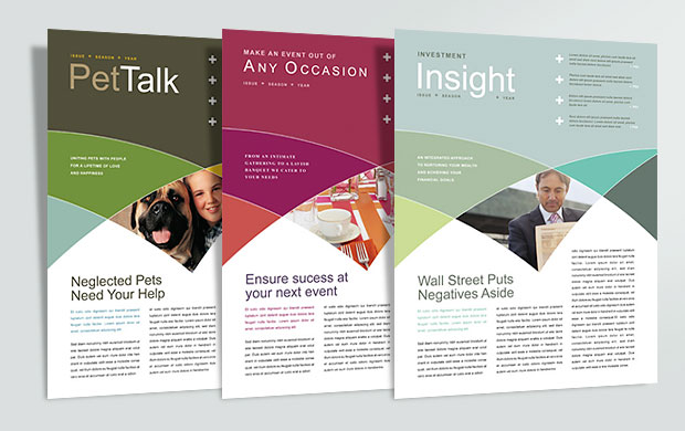 Newsletter Layout Graphic Design Ideas Inspiration StockLayouts