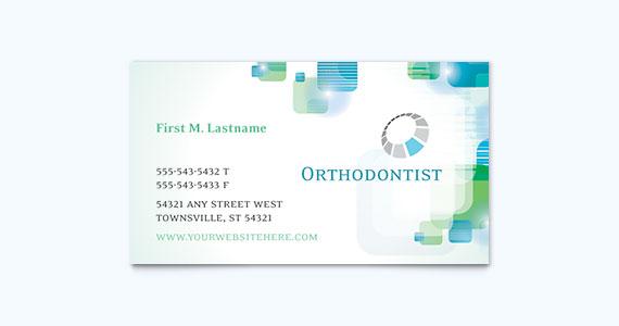 Dentist Business Card Design Idea