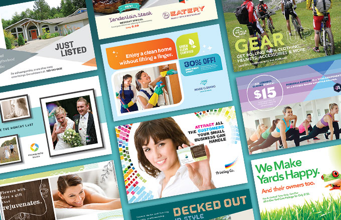 Direct Mail Postcards: 15 Creative Graphic Design Examples for ...