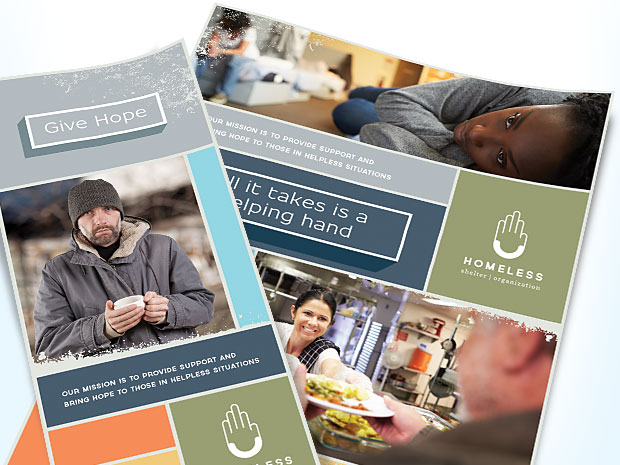 Homeless Shelter & Housing - Graphic Designs - Marketing Ideas