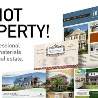 Marketing Materials For Realtors DIY Printable Templates - Microsoft office real estate flyer templates
