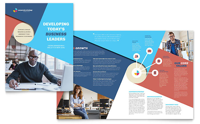 Use indesign templates to quickly create design projects for Indesign brochure templates free