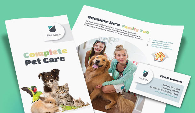 Pet Store - Business Marketing Materials