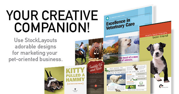 Business Marketing Templates – Pets & Animals