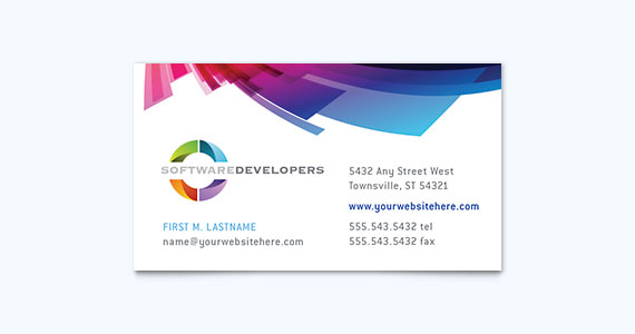 Graphic Design Examples Of Business Cards StockLayouts Blog - Professional business card design templates