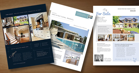 Real Estate Marketing Flyer Templates